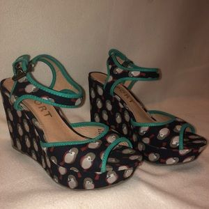 Wedges with small platform